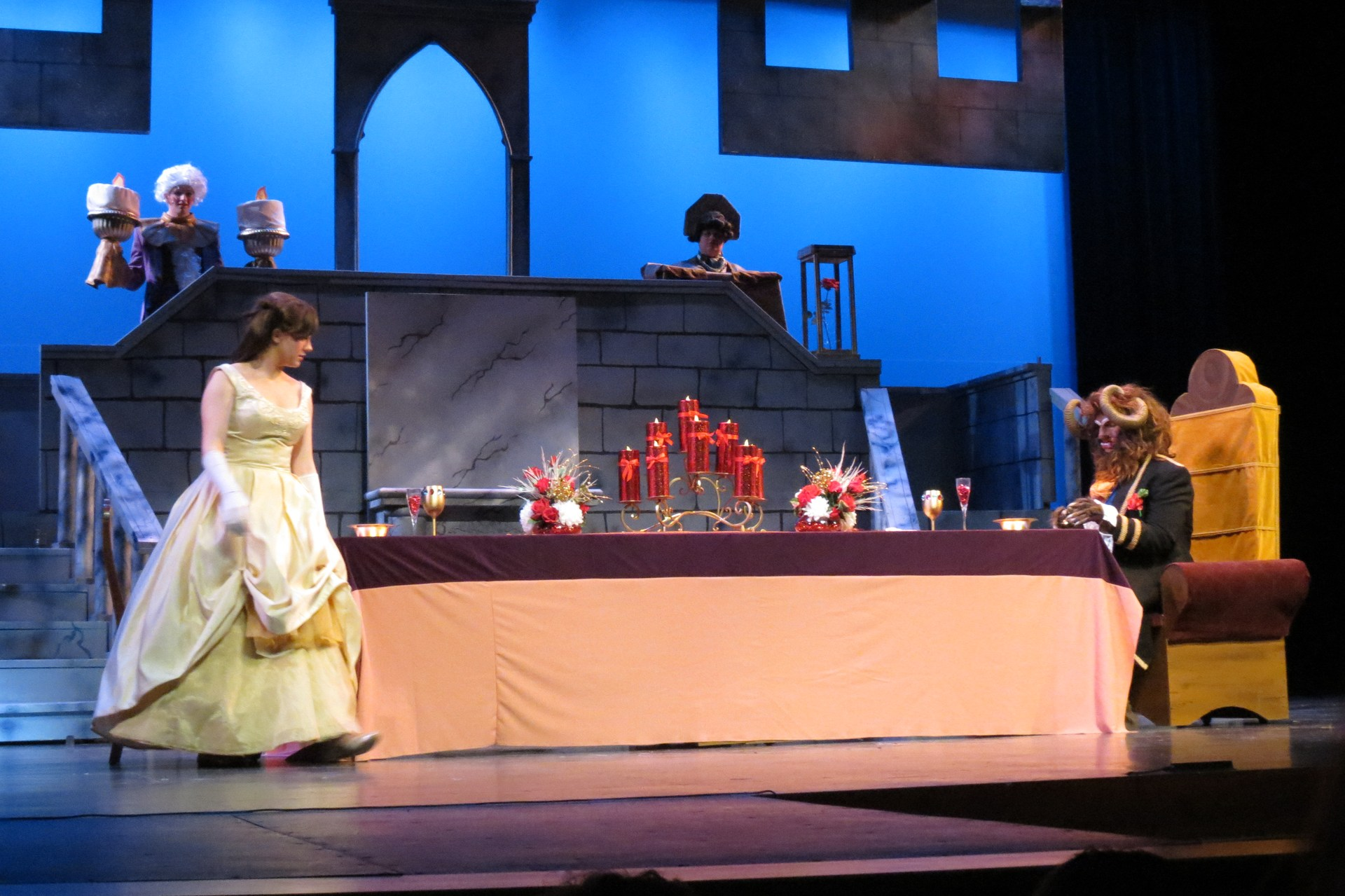 Beauty and the Beast production