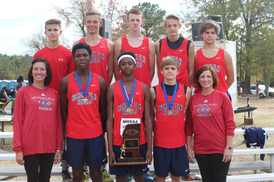 picture of boys cross country team