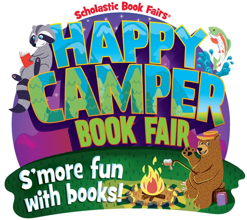 Spring Book Fair: Happy Camper - S'More Fun with Books Thumbnail Image