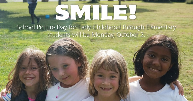 Picture Day is Monday, Oct. 2nd! Featured Photo