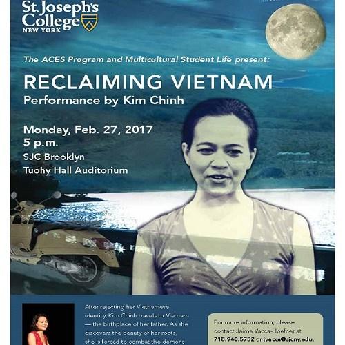 St. Joseph's College Presents: Reclaiming Vietnam Thumbnail Image