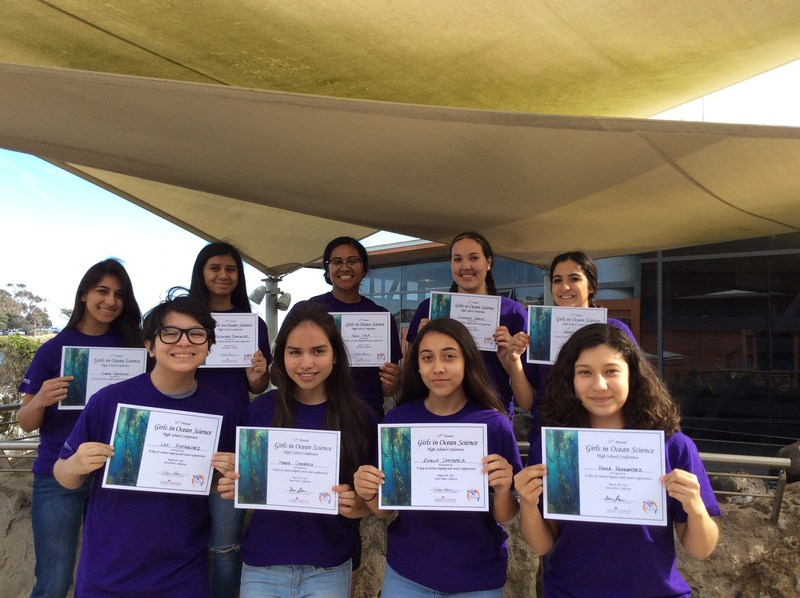 Students Attend Girls In Ocean Science Conference Thumbnail Image