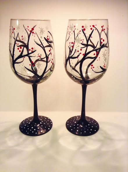 Join us for Wine Glass Paint Night! - November 8 Featured Photo