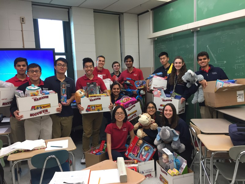 National and American Technology Honor Society Toy Drive Thumbnail Image