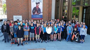DTSD - 8th grade poses outside of Museum of American Revolution.jpeg