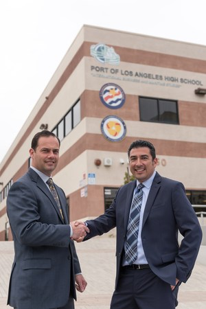 George Mora is the new Principal for POLAHS