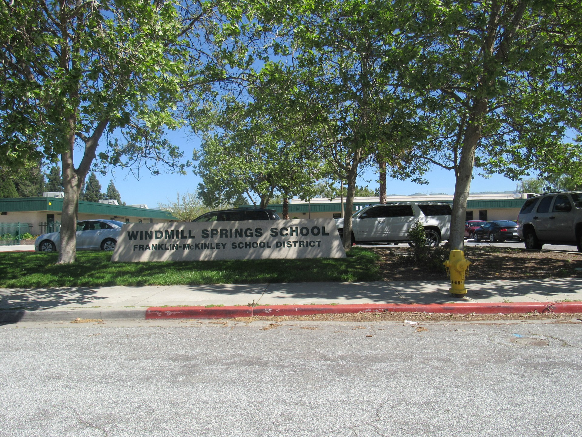Front of Windmill Springs School