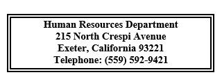 human resources department contact info