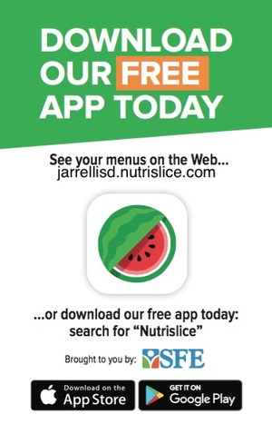 Flyer for the cafeteria app