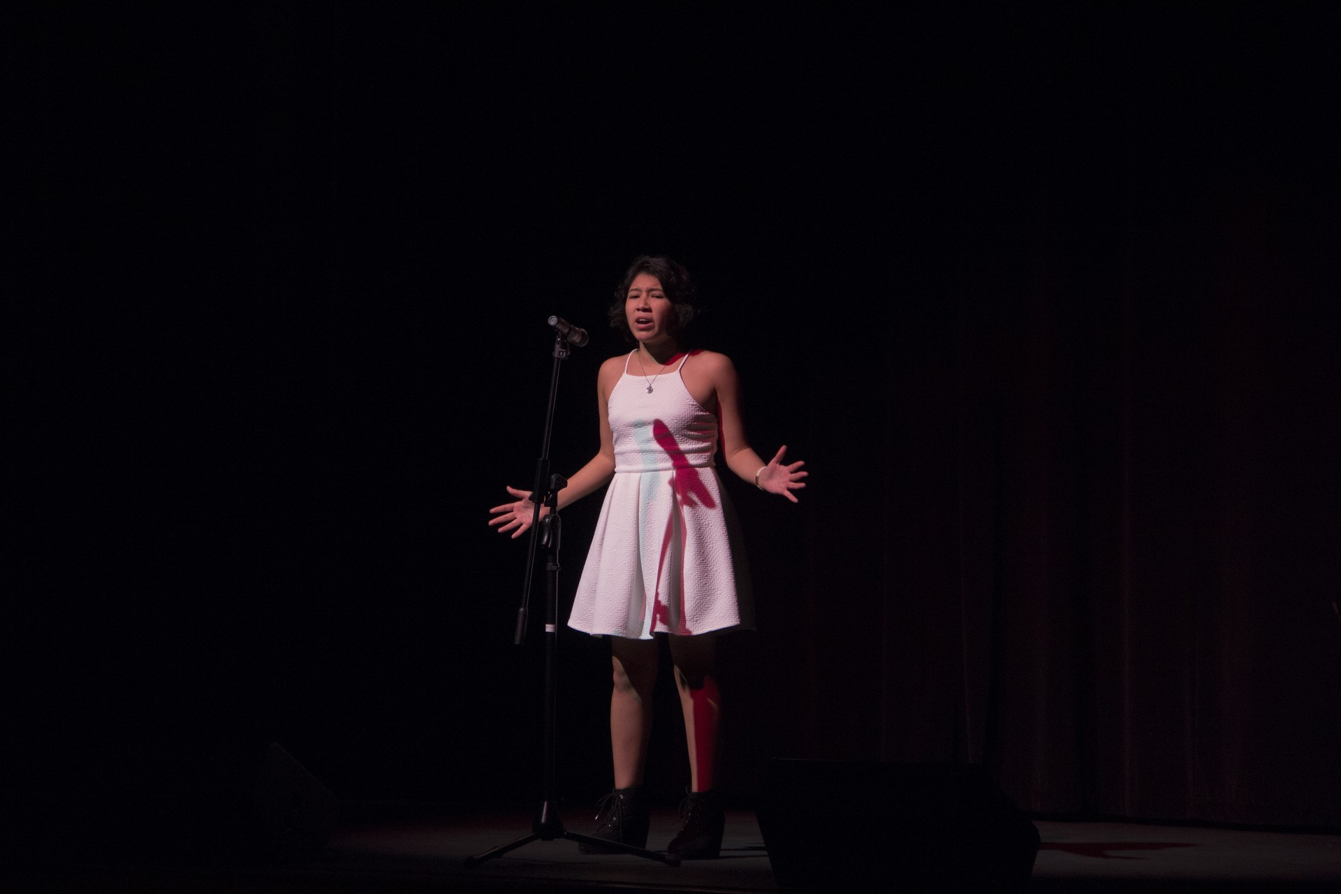 2nd girl singing solo