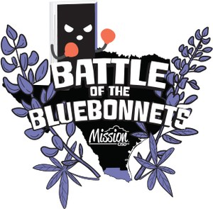 Battle of the Bluebonnets logo