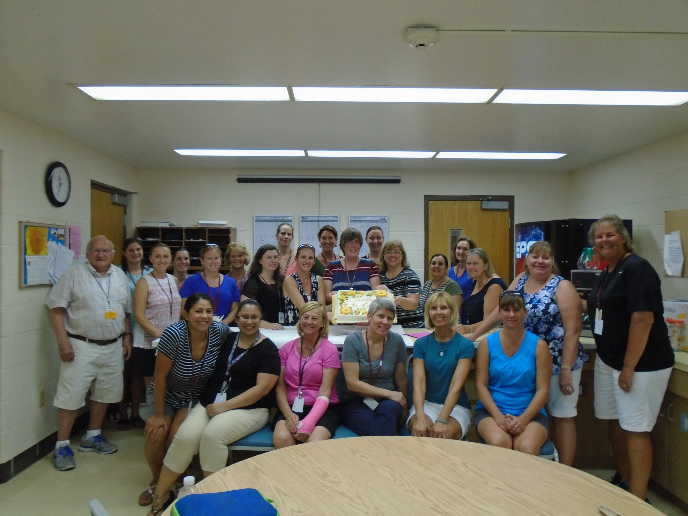 Photo of staff at Jefferson Early Childhood Center.
