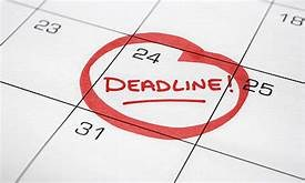 College Application & Financial Aid deadlines Thumbnail Image