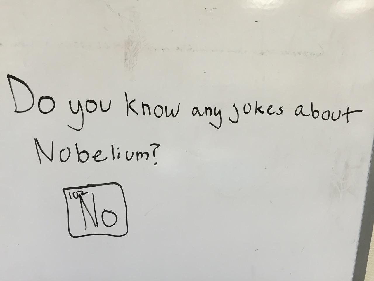 Chemistry jokes
