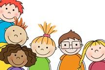 Cartoon of kindergarten age boys and girls of various ethnicities