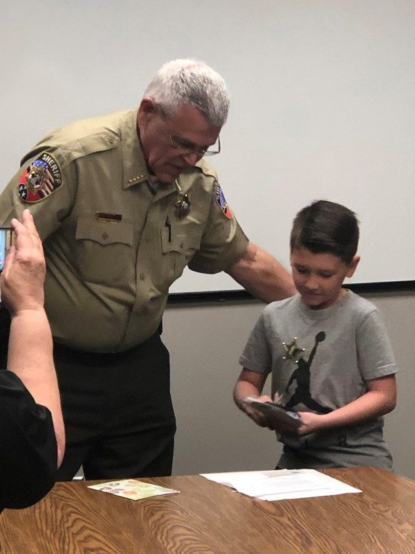 Student Sends Letter of Kindness to RCSO Thumbnail Image