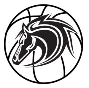 Stallion basketball logo