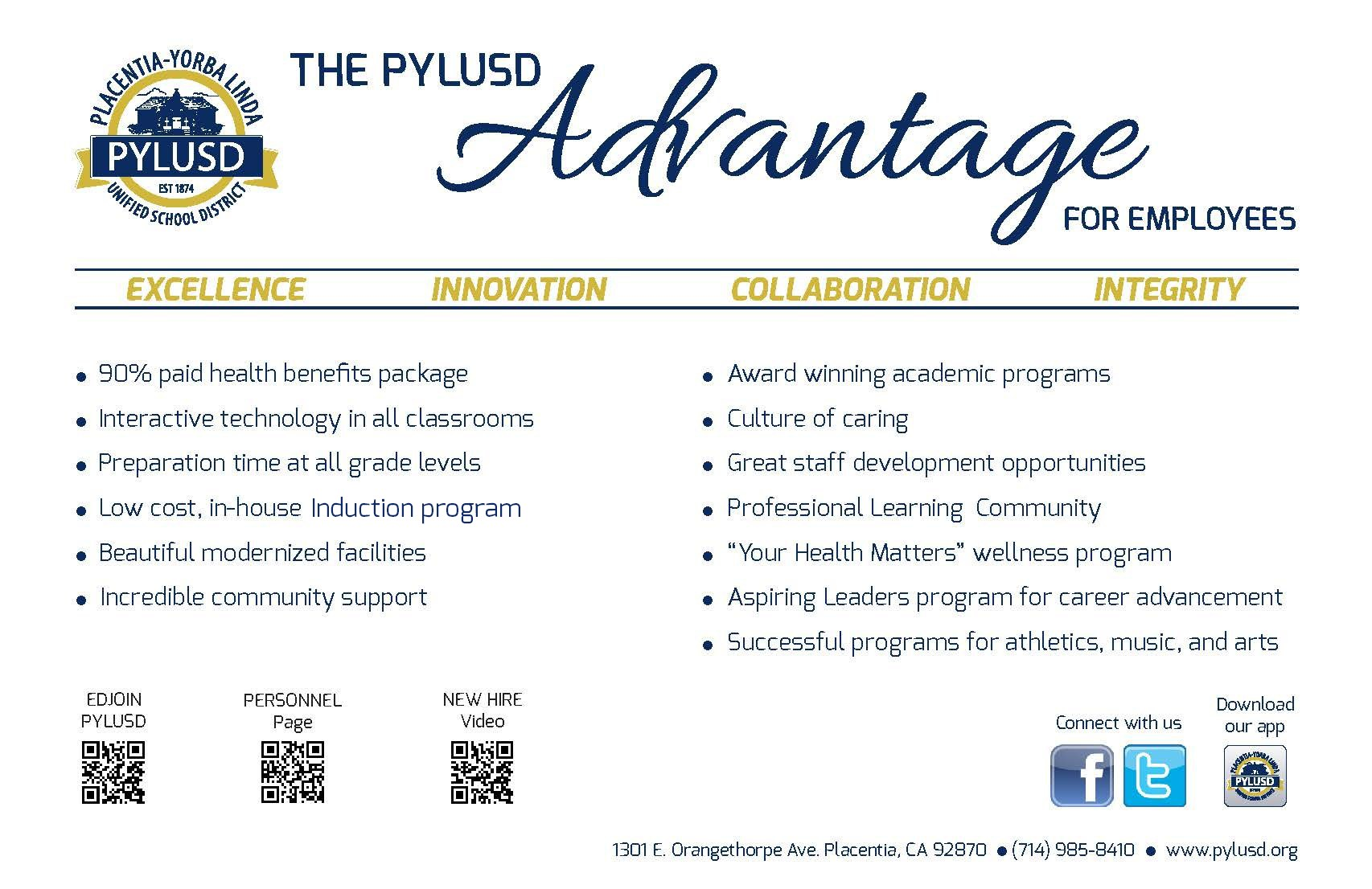 Advantage postcard.