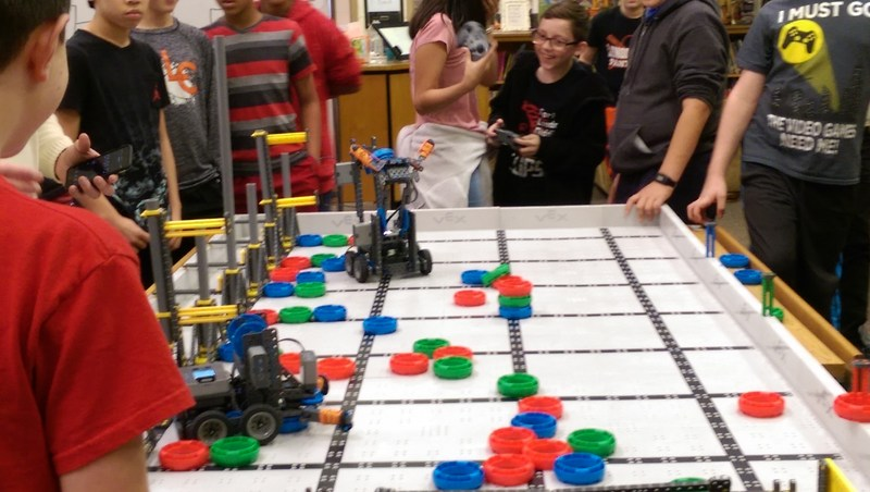 photo of robotics competition