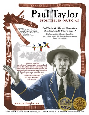 Paul Taylor flyer
