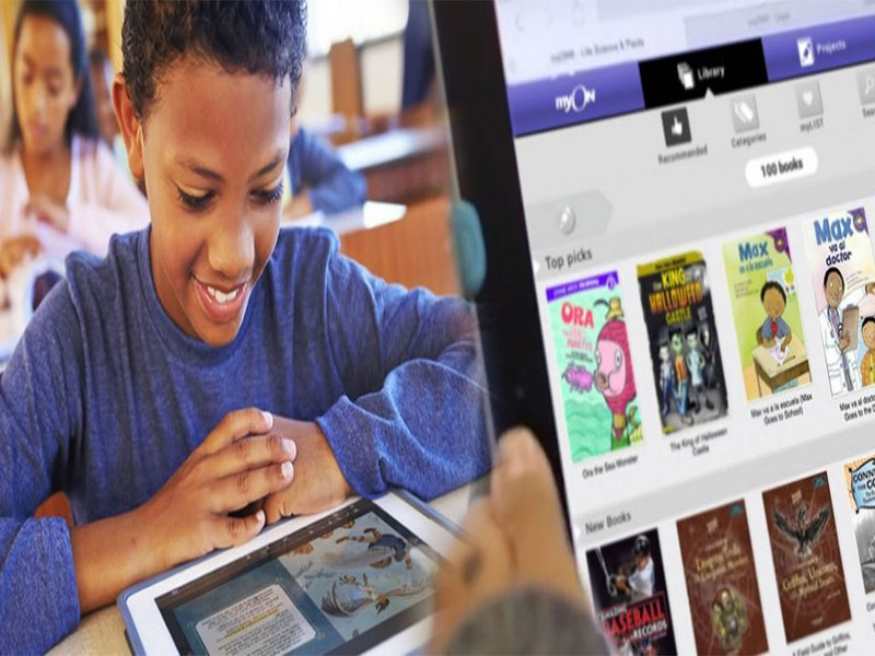 MISD Students Read More Than 2,000 Books in Week 24 myON Literacy Report Thumbnail Image