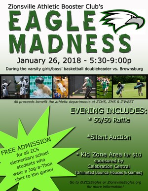Eagle Madness Flier