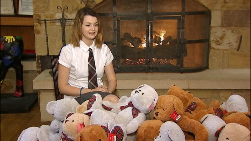 Photo from Fox 4 News-WA student Troublefield