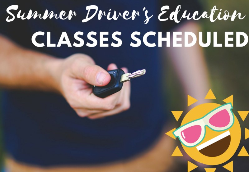 Summer Driver's Education Classes Planned Thumbnail Image