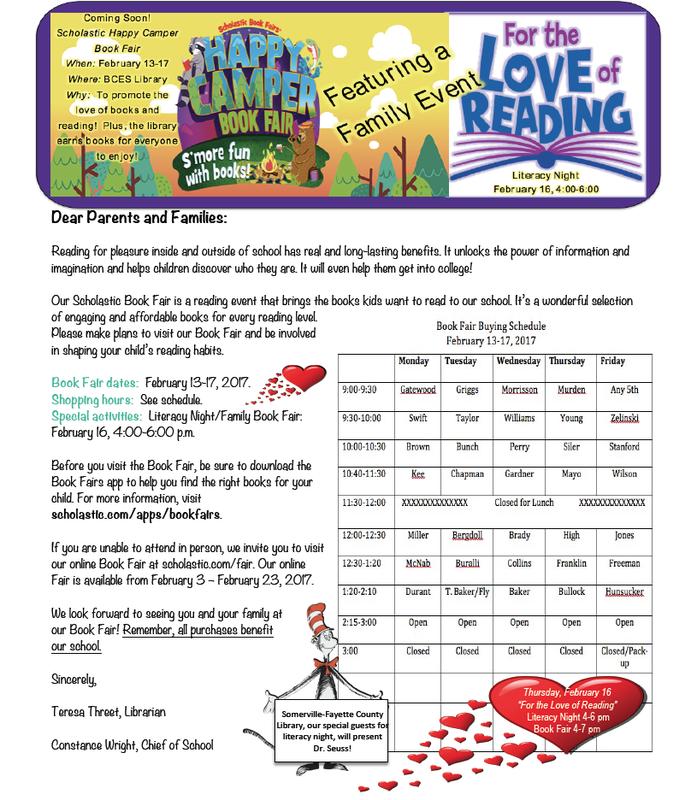 Scholastic Book Fair, February 13-17, 2017 Thumbnail Image
