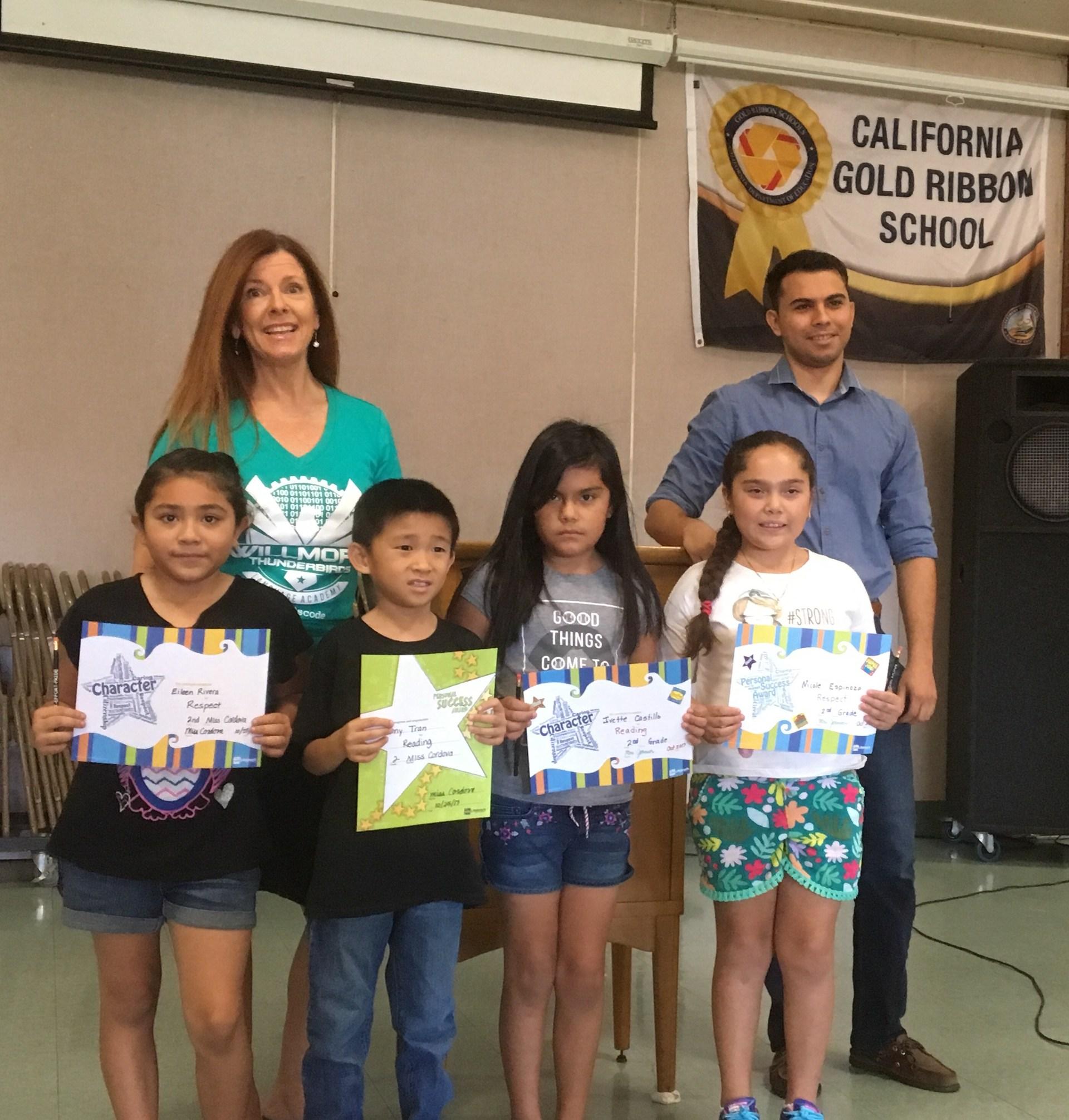 Second Grade Winners