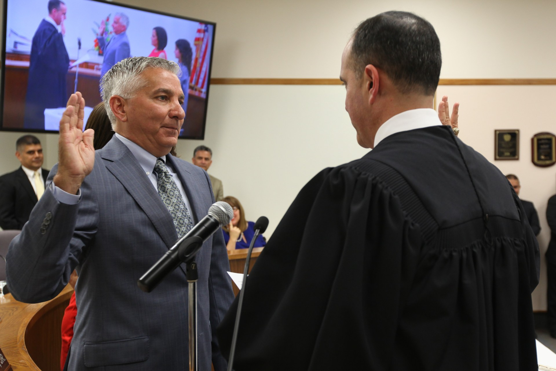 Mr. Vela swearing in