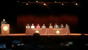 Panel discussion at HSSU Male Empowerment Summit