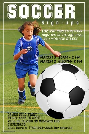 Soccer Sign Up