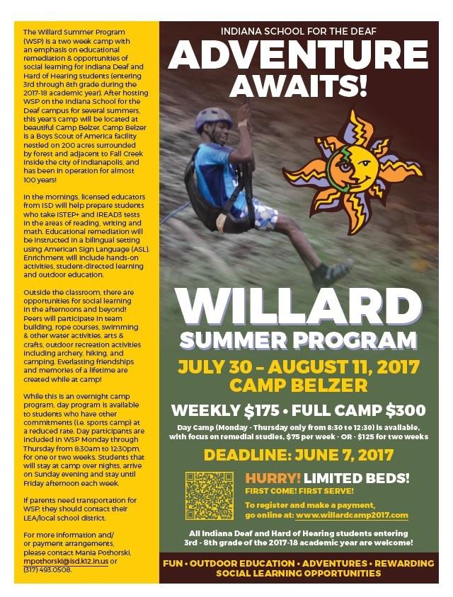 Camp Willard Flyer