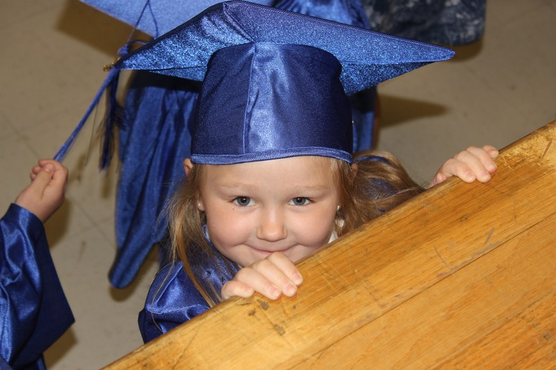 Gerard kindergarten graduate
