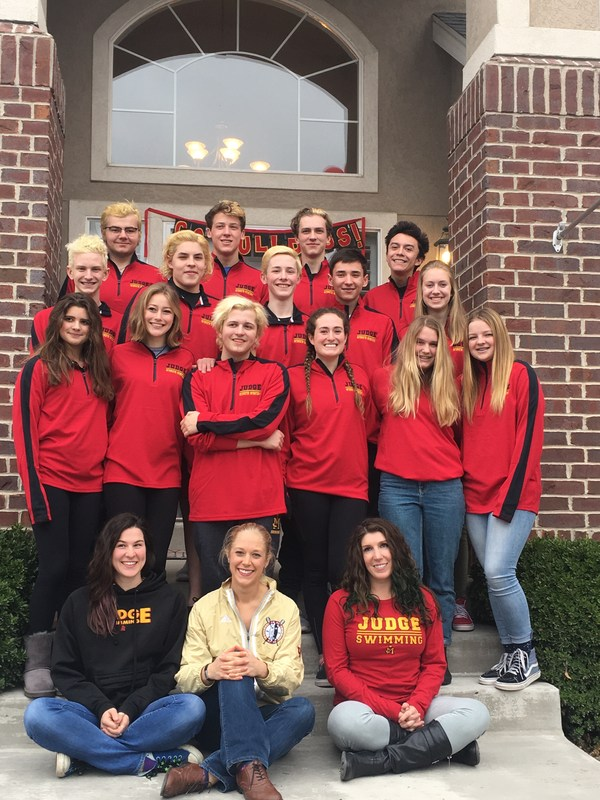 Judge Swim at State with 16 Qualifiers! Featured Photo