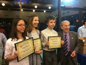 Holocaust Essay Winners.JPG