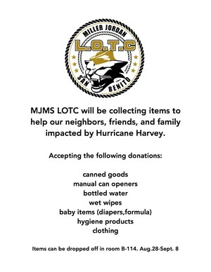 Hurricane Relief Drive