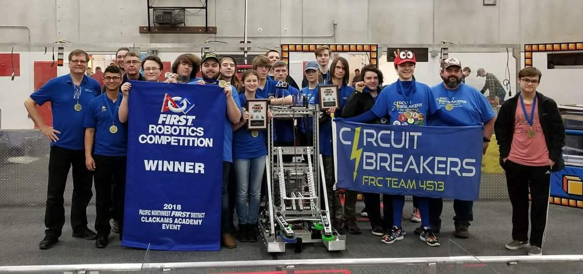 Winner 2018 FIRST Robotics Clackamas Event