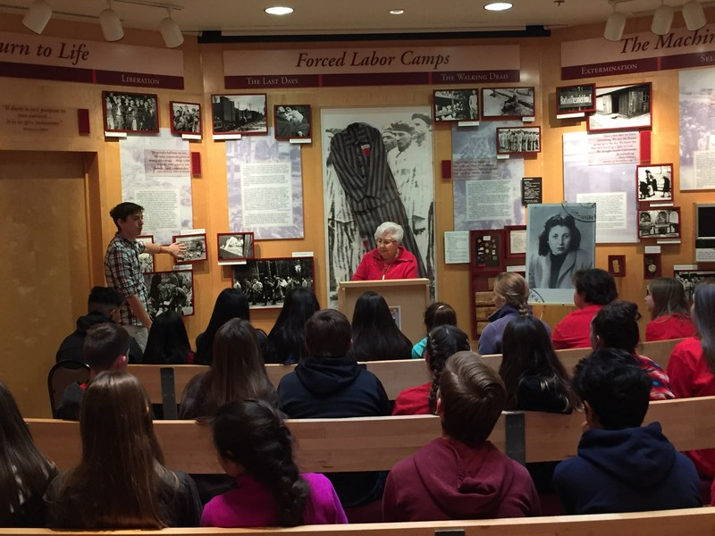 CMS Students at Holocaust Museum