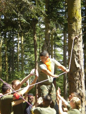 J.R.O.T.C. summer leadership camp picture 2