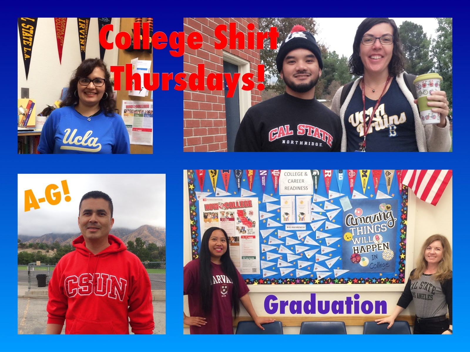 MGMS College Shirt Day!!