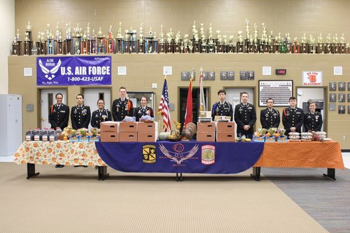 Blaze JROTC Thanksgiving Dinners