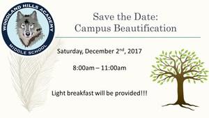 Save the Date: Campus Beautification Day! Thumbnail Image