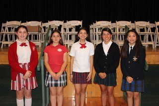 St. Andrew Catholic School hosted the Annual 6th-8th grade Spelling Bee Thumbnail Image