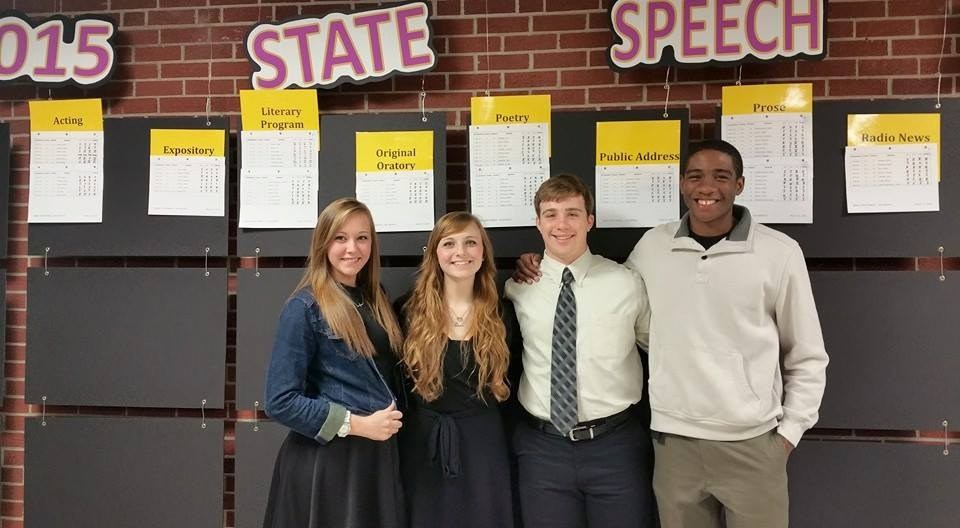 Individual State Qualifiers, Speech