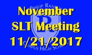November SLT