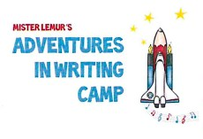 Summer Adventures in Writing Camp Logo