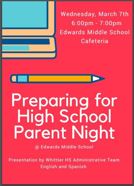Preparing For High School Parent Night Featured Photo