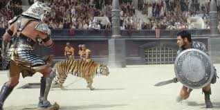 Tiger in the Flavian Amphitheatre